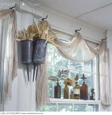 Vintage Window Treatment Ideas | This One From Visual Photos Is Very Unique.  Pinterest a