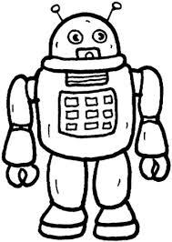 Disegno Di Robot Da Colorare Disegni Da Colorare E Stampare Gratis