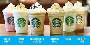 starbucks frappuccino flavors 2015. Brilliant 2015 Of What Is Arguably Its Most Famous Menu Item Starbucks Making It  Rain Frappuccinos And Launching Six Brandnew Blended Beverage Flavors Today Inside Frappuccino Flavors 2015 R