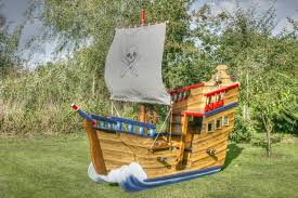 pirate ship playhouse for fun roomslovely kids backyard playroom design pirate ship shaped brown wood pirate ship