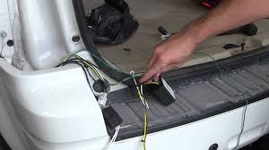 installation of a trailer wiring harness on a 2010 ford escape ford f250 trailer wiring harness Ford F350 Trailer Wiring Harness #28
