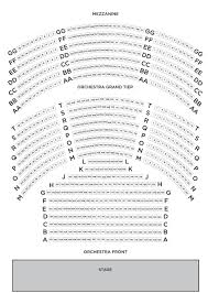 Sidney Harmon Hall Seating Chart Theatre In Dc