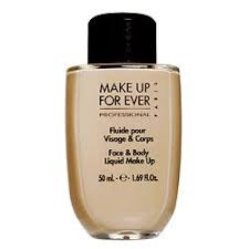 make up for ever face body liquid make up discontinued