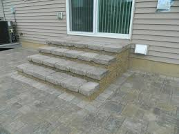 diy patio more paver stairs temporary solution on the