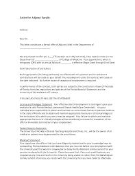 Cover Letter Adjunct Professor Business Adriangatton Com