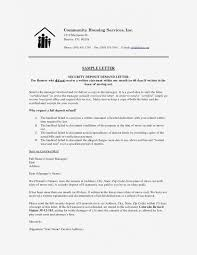 latest security deposit return letter template helpful refund fresh receipt format systematic moreover general 361