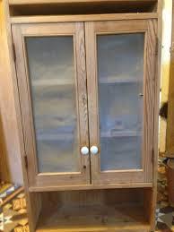 Pine Kitchen Cupboard Doors Old Pine Kitchen Wall Cabinet With Wire Mesh Doors In Salisbury