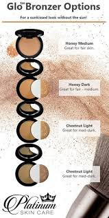 Glo Minerals Colour Chart Glominerals Pressed Foundation