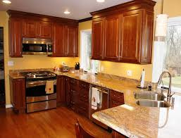 ... Kitchen Paint Colors With Oak Cabinets Dark ...