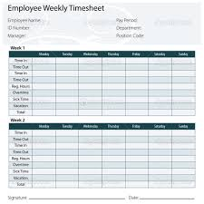 Biweekly Timesheet Template Free Bi Weekly Timesheet Calculator With Lunch Break Excel Biweekly Check