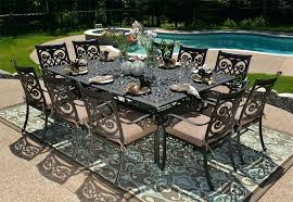 aluminum outdoor dining chairs the collection person all welded cast aluminum patio furniture dining set aluminum