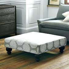 fabric ottoman square coffee table with tray material decoration items