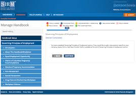 Free Web Templates For Employee Management System Employee Handbooks