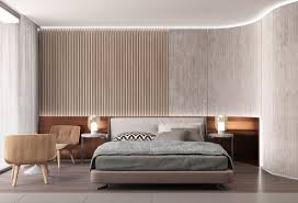 Small Picture 25 Beautiful Examples Of Bedroom Accent Walls That Use Slats To