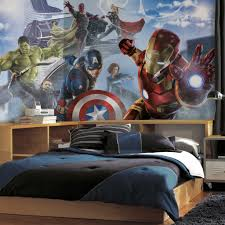 Marvelous XL Wall Mural Featuring Avengers Age Of Ultron
