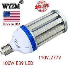 How To Change A Parking Lot Light Bulb E39 400w Hid Parking Lot Light Retrofit 100w Led Shoebox Bulb Replacement 5000k