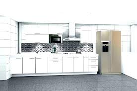 white kitchen cabinets modern cabinetry small before after cabinet dark countertop what color backsplash
