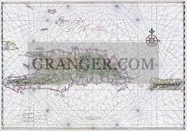 Image Of Hispaniola Nautical Chart Of Haiti The