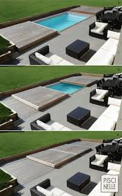 paddock pools patio furniture. rolling-deck piscinelle : rolling pool cover becomes patio platform paddock pools furniture
