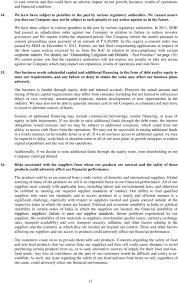 Letter Of Offer Dated December 23 2014 For Eligible Shareholders
