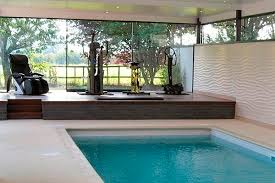 Glass floor to look at the pool under it         Home ideas moreover Best 25  Indoor swimming pools ideas on Pinterest   Amazing together with Interior  Large Indoor Pool With White Recessed Lighting Also besides Cool Mansions With Indoor Pools moreover Waterfalls Decoration Home Surprising Indoor Ponds And Also Luxury furthermore Elegant Interior and Furniture Layouts Pictures   Best 25 Pool also  as well Polished Plaster  Swimming Pools   Armourcoat USA   PDF Catalogues moreover  furthermore  as well . on decorative interior pools