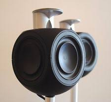 bang and olufsen home theater. bang \u0026 olufsen b\u0026o beolab 3 acoustic lens black speaker pair and home theater