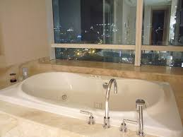 the ritz carlton hotel pacific place jakarta bathtub