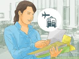 Make A Vacation Itinerary How To Create A Travel Itinerary 10 Steps With Pictures