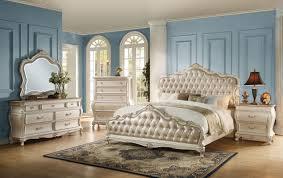 Chantelle 3-Piece King Size Bedroom Set, Pearl White