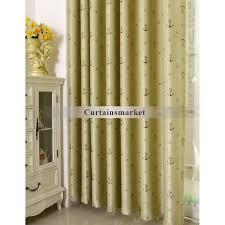 Anchor Patterns Favorite Nautical bedroom curtains