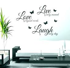 wall decor sayings metal with art words live laugh awesome