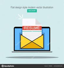Envelope For Resume Laptop Envelope Resume Letter Email Job Application Form