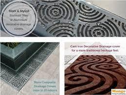 devon decorative drainage covers