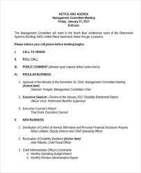 21+ Management Agenda Examples & Samples