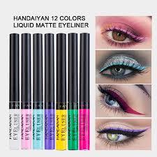 <b>12 Color Matte Liquid</b> Eyeliner - Fairyseason