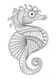 Tropische Vissen Kleurplaat Stockvectors Rechtenvrije Tropische