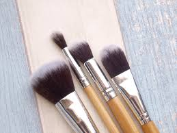 secondly these are the brushes i use for my face from left to right