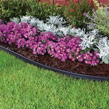 no dig 40 ft flexible easy landscape edging kit for garden flowerbed paver edge 786301954227