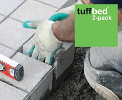 tuffbed 2 pack high performance paving bedding mortar