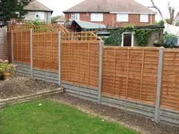 garden fencing. Lap Panel Garden Fencing, Southwick, West Sussex Fencing