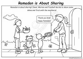 Arabic alphabet flashcards with pictures. Ramadan Colouring Pages Archives Islamic Comics