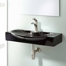 Bathroom Sink Material Ronan Wall Mount Bathroom Sink Bathroom