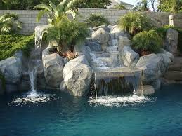 pacific pools and patios rock waterfall rock pool glamorous pacific pools and patios home