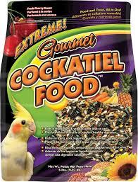Cockatiel Diet Chart Extreme Gourmet Cockatiel Food F M Browns
