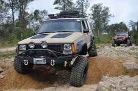 jeep cherokee hood louvers xj hood