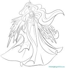 my little pony coloring pages princess celestia and luna exceptional baby