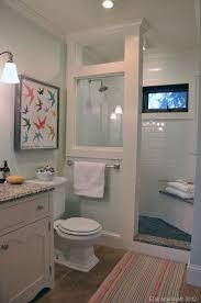 Perfect farmhouse bathroom remodel ideas Vintage Farmhouse Best 25 Half Wall Shower Ideas On Pinterest Bathroom Showers Regarding Residential Bathroom Design Ideas Mule Stable Best 25 Half Wall Shower Ideas On Pinterest Bathroom Showers