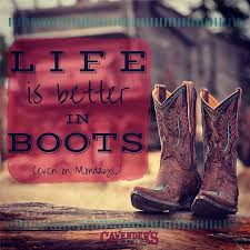 Boots Quotes