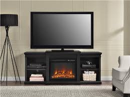manchester electric fireplace tv stand for tvs up to 70 black