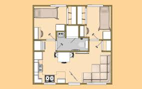 A 20\u0027 x 20\u0027 400 sq ft 2 Bedroom with 3/4 Bath that I\u0027m calling the ...